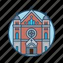 church, europe, famous building, landmark, religious, stockholm, tourism icon