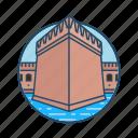 famous building, fort jefferson, historical, landmark, masonry, west florida icon