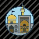 culture, famous building, iran imam reza shrine, islamic, landmark, mashhad, religious icon