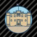 catle, citadel, egypt, famous building, landmark, qaitbay castle east port, tourism