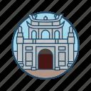 citadel, entrance, famous building, hue, imperial, landmark, vietnam
