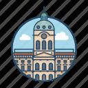 baroque, berlin, castle, charlottenburg palace, famous building, germany, landmark icon