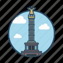 angel, europe, famous building, german, history, landmark, victory column berlin icon