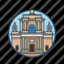 carmelite church warsaw, chapel, church, columns, famous building, landmark, religious