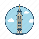 colorado, daniels & fisher tower, denver, famous building, landmark, tower