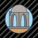 famous building, joseph, jubb yusuf, landmark, well of prophet yusuf icon