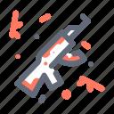 gun, rifle, weapon icon
