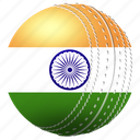 ball, country, culture, flags, game, india, sports icon