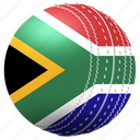 africa, ball, cricket, exercise, game, south, tournament icon