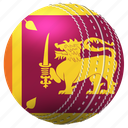 ball, competition, country, cricket, rivalry, sports, srilanka icon