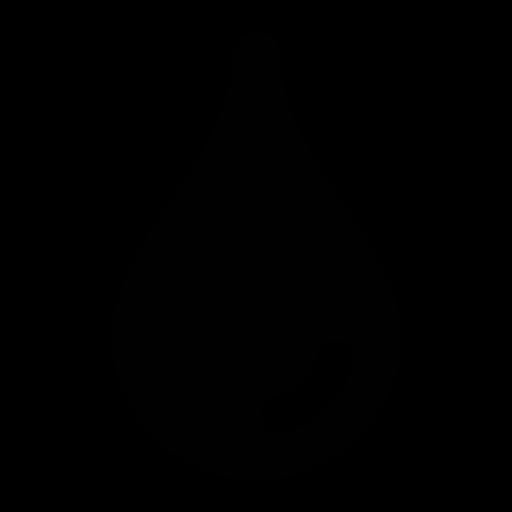 drop, oil, rain icon