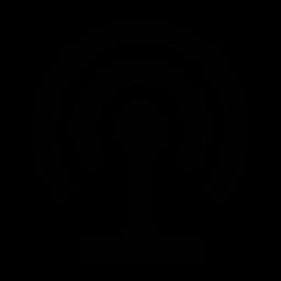 podcast, transmit icon