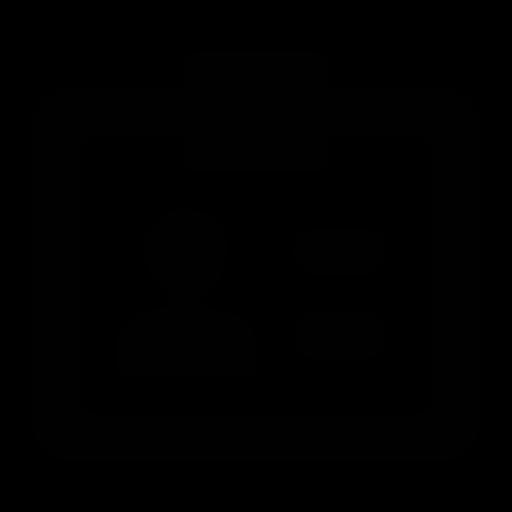 id, identity icon