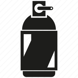 bottle, inject, spray icon