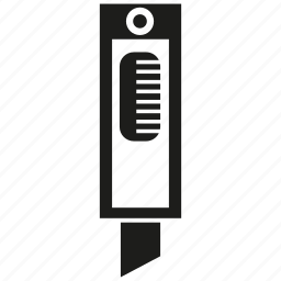 cutter, knife icon