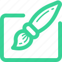 brush, draw, edit, paintbrush, tools, write, writing icon