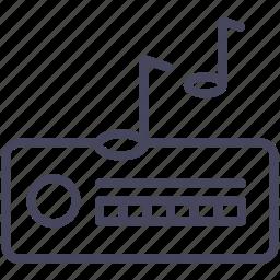 cars, music, radio, wsd icon