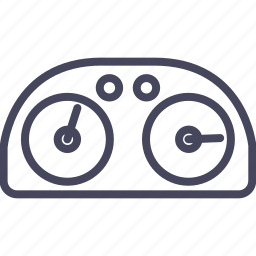 cars, clock, cluster, gauge, part, wsd icon