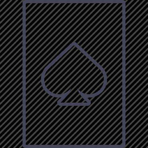 card, casino, gamble, game, hazard, poker, wsd icon