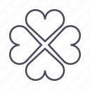 casino, clover, happiness, quaterfoil, wsd icon