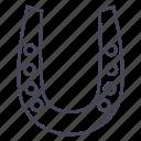 casino, happiness, horse, horseshoe, wsd icon