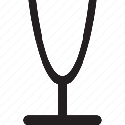 cup, empty, glass, wsd icon