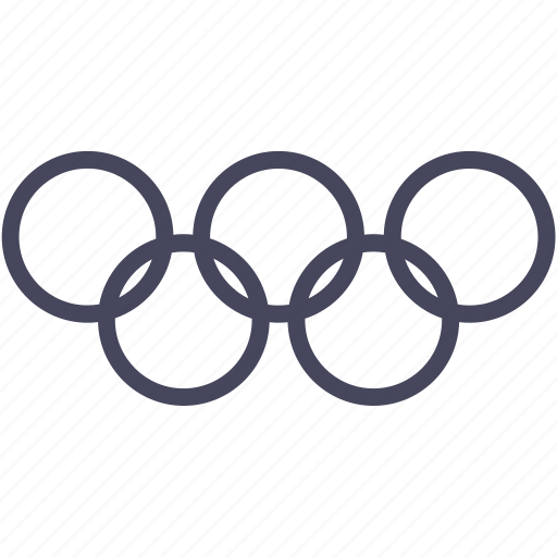 olympic, rings, sport, wsd icon