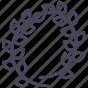laurel, olympic, sport, winner, wreath, wsd