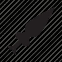 arrow, skew, slant, up icon