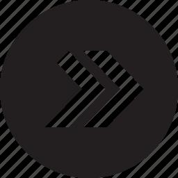 forward, rewind icon