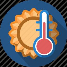 heat, hot, sun, temperature, warm icon