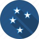 night, sky, stars icon