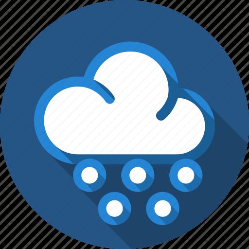 cloud, drizzle, rain, sprinkle icon