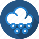 cloud, snow, snowfall icon