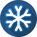 flake, snow, snowball, snowfall, winter icon