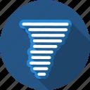 tornado, wind icon