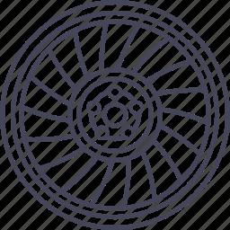 car, model ind-t, rotiform, tuning, wheel, wheels, wsd icon