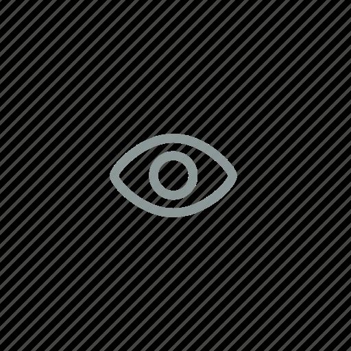 eye, hidden, invisible, view, visible icon
