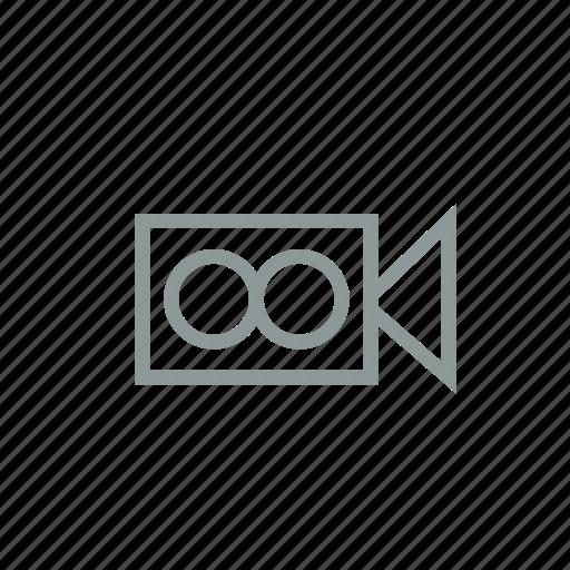 camera, cinema, film, movie, projector, record, video icon