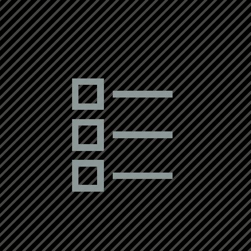 contents, item, list, menu, playlist, test icon