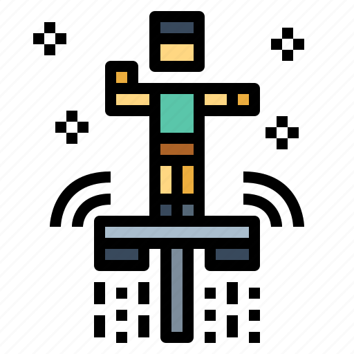 extreme, flyboard, sports, water icon
