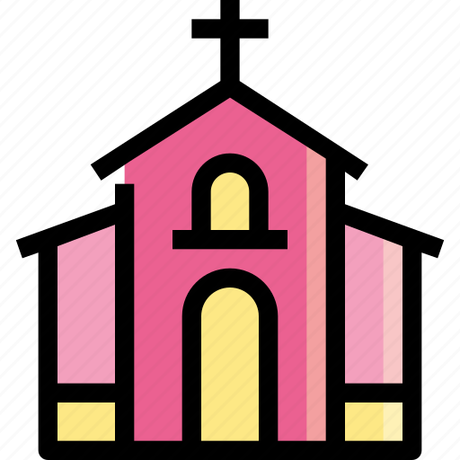 building, chapel, christian, church, temple icon