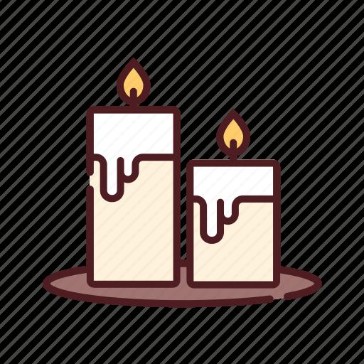 candles, christmas, fire, light, shrine, xmas icon