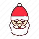 christmas, christmas father, claus, decorate, santa, santa claus, xmas icon