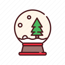 ball, christmas, collection, decoration, snow, snow ball, snow globe, xmas icon