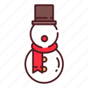 christmas, decoration, snow, snowman, xmas icon