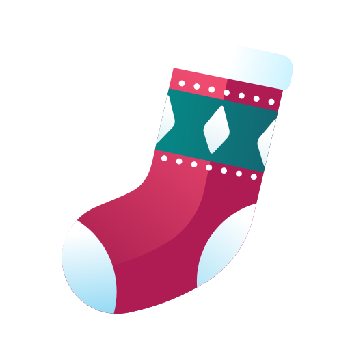 christmas, christmas sock, decoration, red socks, sock, socks, stocking, xmas icon