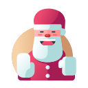 christmas, christmas father, claus, decoration, santa, santa claus, xmas icon