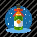 beverage, champagne, champaign, christmas, liquor, sparkling, xmas icon