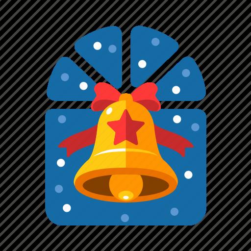bell, christmas, christmas bell, decoration, handbell, xmas icon